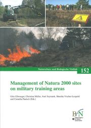 "Cover des NaBiV-Bandes ""Management of Natura 2000 sites on military training areas"""