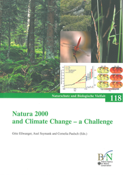 "Cover des NaBiV-Bandes ""Natura 2000 and Climate Change - a Challenge"""